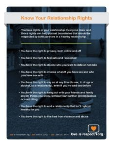 Relationship Rights